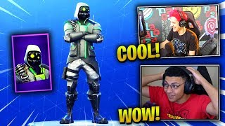 STREAMERS REACT TO *NEW* ARCHETYPE SKIN! - Fortnite Epic & Funny Moments (Fortnite Battle Royale)