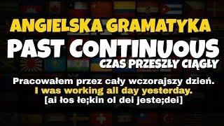 Czas Past Continuous gramatyka angielska