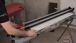Rubi TX-N Porcelain Tile Cutter - TX-700-N, TX-900-N, TX-1200-N