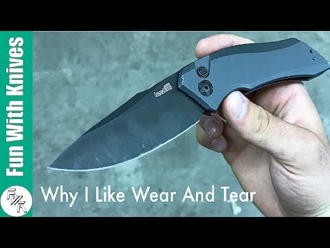 Why I Like Wear And Tear On My Knives