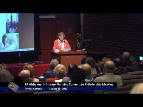 Dene's TV Shows Now Hear This Pennsylvania Alzheimer's Planning Committee Meeting at Penn