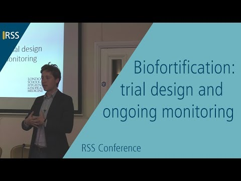 Biofortification: trial design and ongoing monitoring