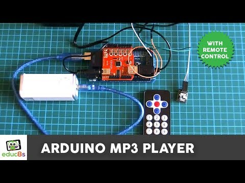 Arduino Project: MP3 player with IR remote control DIY