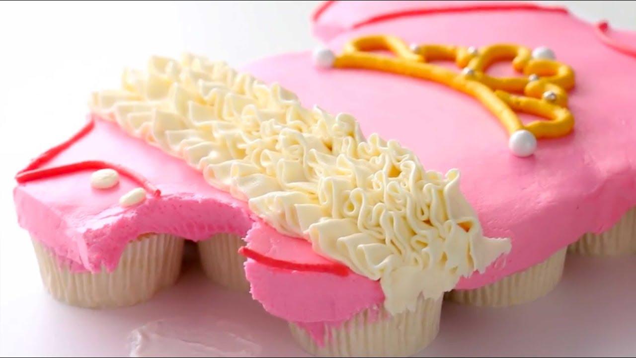 Wonderbaarlijk Easy BABY SHOWER Pull Apart Cupcake Cakes | Cupcake Decorating UN-36