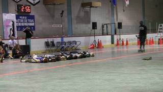 Montreal Roller Derby Beast of the East 2010 Quadzilla Stunt Jump