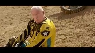 Alf Stewart funny commercial - Dirt bike crash