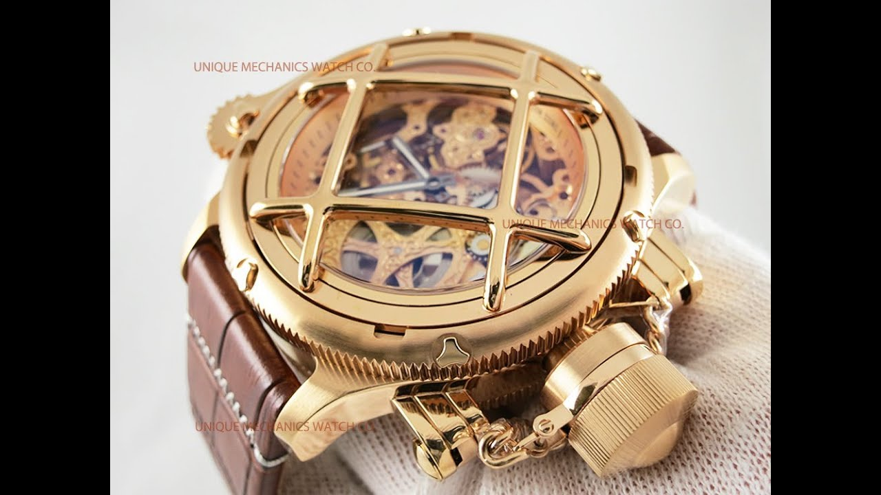 invicta 14627 russian diver rose gold skeleton dial rose gold invicta 14627 russian diver rose gold skeleton dial rose gold mechanical watch