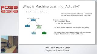 Machine Learning using Open Source R - Dr. Graham Williams - FOSSASIA Summit 2017