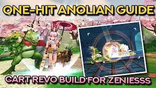 WHITESMITH CART REVOLUTION BUILD FOR ANOLIANS | Ragnarok Mobile Eternal Love