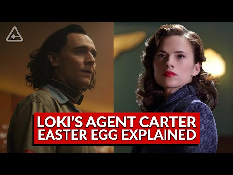 What Loki's Agent Carter Easter Egg Means for the MCU