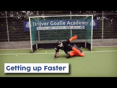 Goalie Tutorial: How To Get Up Faster | Hockey Heroes TV