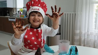Chocolate Maker,Fatih Selim ile evde çikolata yaptık.Kutu oyunları ile evde eğlenceli aktiviteler