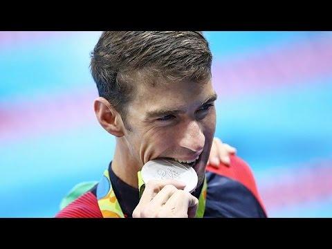 Nur Silber für Phelps