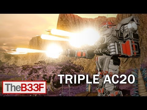 TheB33F - Triple AC20 Victor | Mechwarrior Online