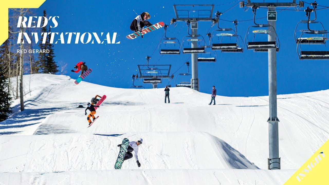 Download 16-Year-Old Pro Snowboarder Red Gerard and Friends Session a Perfect Park   Insight