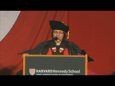 Harvard Kennedy School 2017 Commencement