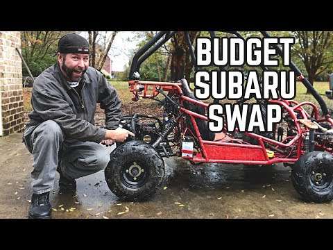 Subaru Engine Go Kart Swap on a Budget!
