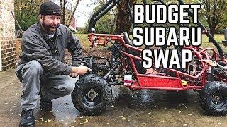 Subaru Engine Go Kart Swap On A Budget