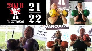 [Flight 21 & 22] 2018 OKCI Vancouver Open Kettlebell Sport Competition
