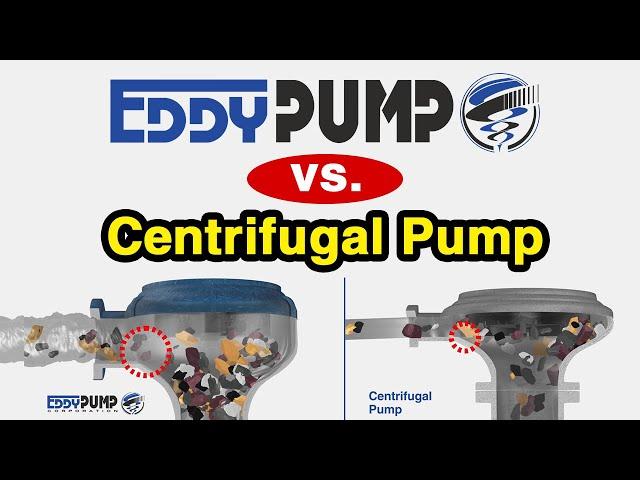 NEW Eddy Pump vs Centrifugal Pump Explained. How this Dredge & Slurry Pump Works