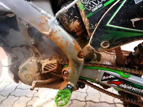 How to clean muddy bike with steam cleaner