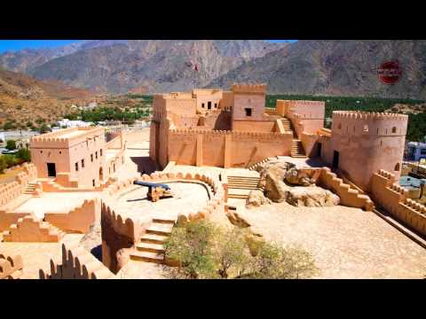 Nakhal Fort - Oman   4k UHD   قلعة نخل - سلطنة عمان