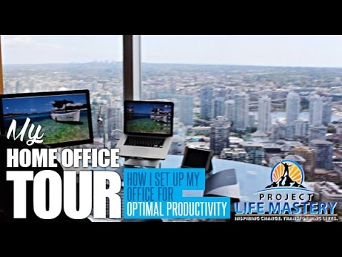 My Home Office Tour - How I Set Up My Home Office For Optimal Productivity