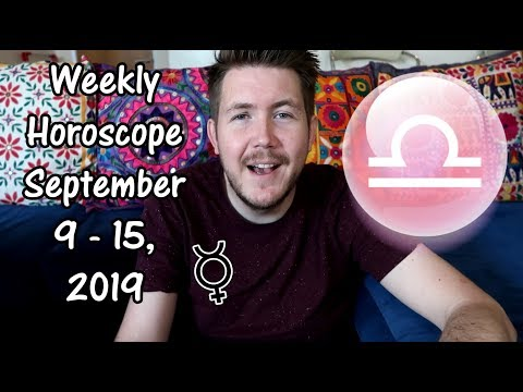 Weekly Horoscope for September 9 - 15, 2019 | Gregory Scott Astrology
