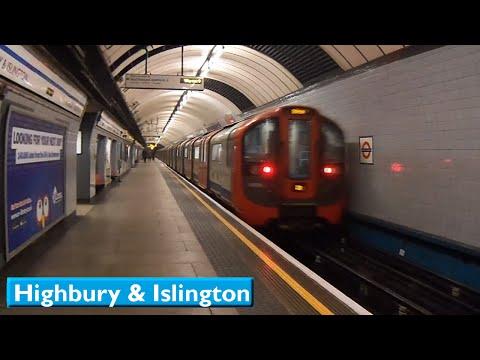 London Underground : Highbury & Islington | Victoria line ( 2009 Tube Stock )