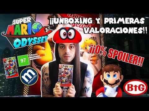 ¡¡UNBOXING DE SUPER MARIO ODYSSEY!! ¡¡9.7 EN METACRITIC!! | Nintendo Switch - Jump Up Super Star-BtG