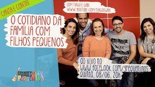 Baixar O cotidiano da família com filhos pequenos - com Tiago e Gabi