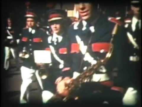 Archive Film Downtown Huntsville Alabama Parade Circa late 1950's