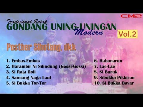 Poster sihotang dkk - Gondang uning uningan modern full album - karya terbaik poster sihotang