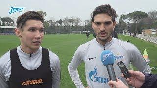 Набиуллин и Оздоев на «Зенит-ТВ»: «Манчини пожелал нам удачи»