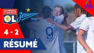 Résumé OL / Zenith  | UEFA Youth League | Olympique Lyonnais