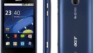 Acer Liquid Mini Hard Reset and Forgot Password Recovery, Factory Reset