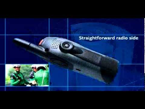 Cassidian/EADS TETRA Terminal THR880 presentation