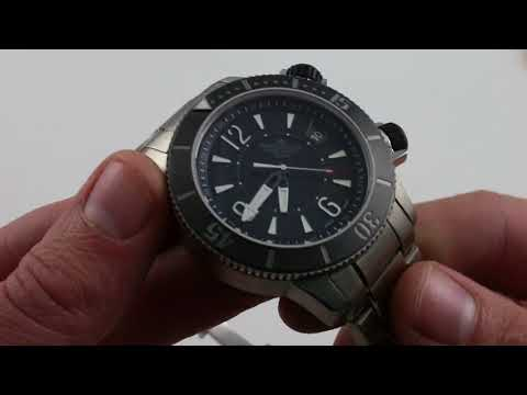 Pre-Owned Jaeger-LeCoultre Master Compressor Navy Seals Limited Edition Luxury Watch Review
