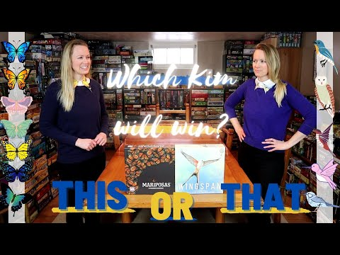 MARIPOSAS OR WINGSPAN?! The Kims Debate Which Elizabeth Hargrave Game Is Better! |