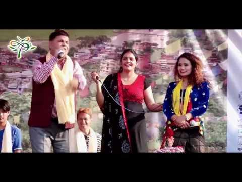 live dohori  prajapati parajuli & priti ale  2016 राष्ट्रिय कलाकार को दोहोरि घम्सा घम्सी