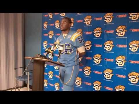 SU Football: Jamie Payton Jackson State postgame