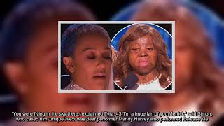 Mel B Fights Back Tears While Praising Kechi On AGT