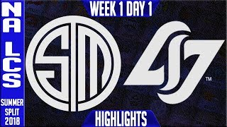 Video TSM vs CLG Highlights | NA LCS Summer 2018 Week 1 Day 1 | Team Solomid vs Counter Logic Gaming download MP3, 3GP, MP4, WEBM, AVI, FLV Juni 2018