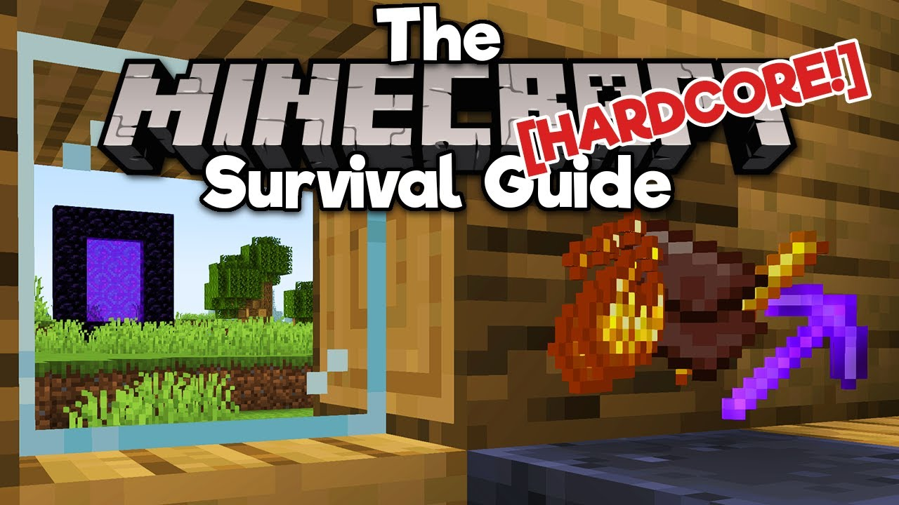 Day 99: Netherite Tools! ▫ The Hardcore Survival Guide [Ep.8] ▫ Minecraft 1.17