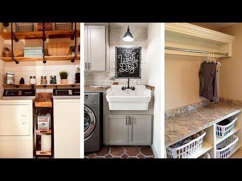 24 Super Creative Laundry Room Storage Ideas
