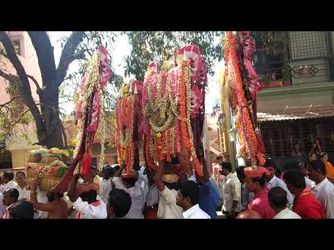 Procession On Sankranti Festival- Kumaraswamy Layout