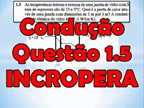 EXERCÍCIO 3.18 INCROPERA - TRANSFERENCIA DE CALOR E MASSA 7ed from YouTube · Duration:  6 minutes 50 seconds