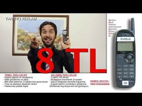1 Kezban 1 Mahmut - BatiBodi Beyinsiz Telefon (Tanıtıcı Reklam)