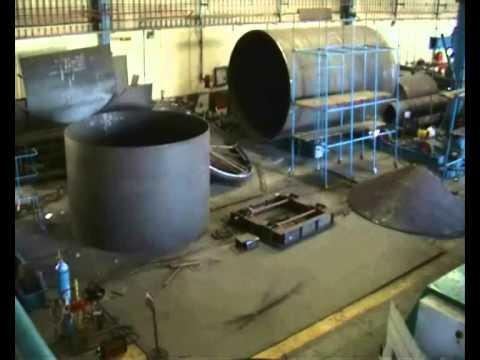 Pressure Vessel Fabricators Wmv Youtube