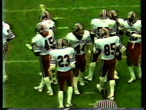 1984 South Carolina Vs Notre Dame 1st Half